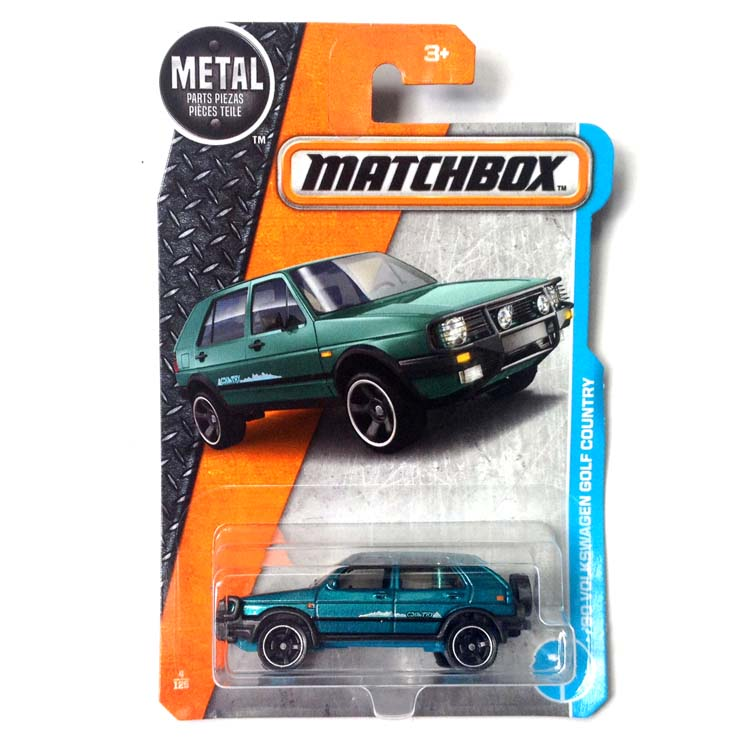 2017 Matchbox 1:64 Car 90 Volkswagen Golf Country Collective Edition Metal Diecast Car Alloy Model Car Kids Toys Gift