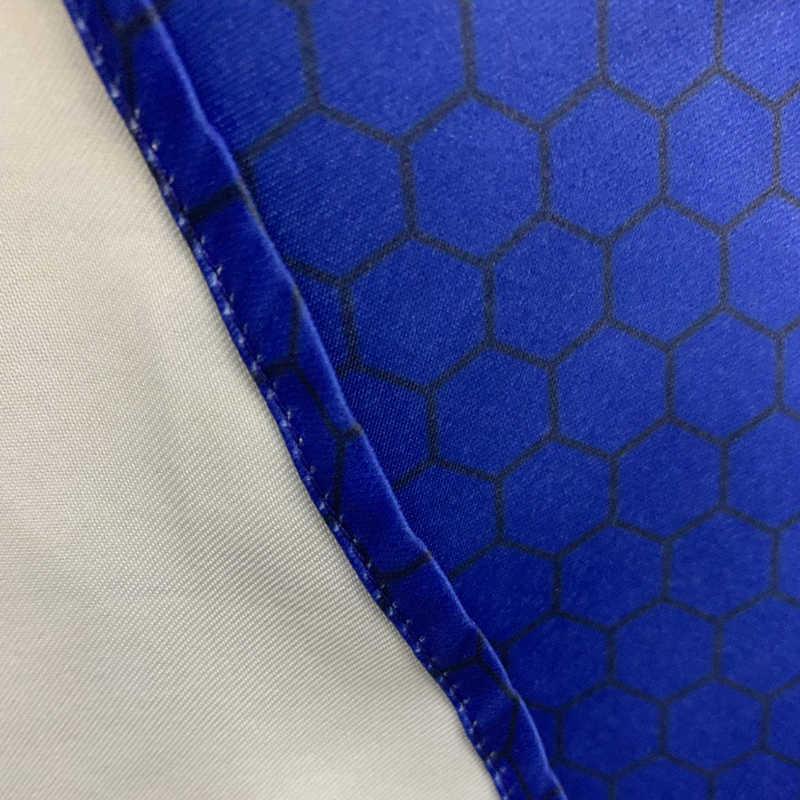 Сексуальные прозрачные сеточные с коротким рукавом Миди летнее женское платье в горошек с рюшами А-силуэт вечерние африканские синие платья 2019