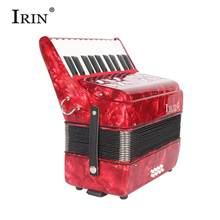 IRIN 22-Keys 8 Bass akordeon Instrument muzyczny rytm zespół dla początkujących dzieci instrumenty klawiszowe akordeon
