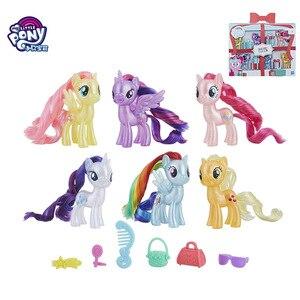 Hasbro My Little Pony игрушка, фестиваль серии 6 шт./компл., девочка, игра, дом, кукла, игрушка