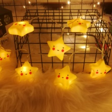 20LED Lovely Star String Lights battery powered Twinkle Christmas Lamp Holiday Party Fairy Room Wedding Decorative Birthday Gift