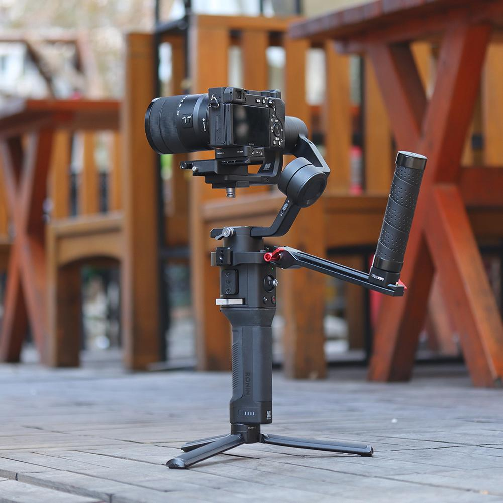 Andoer UURig DH13 Dual Handle Grip Compatible with DJI Ronin S//Ronin SC Camera Stabilizer