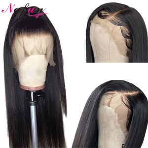Image 2 - Straight Lace Front Human Hair Wigs For Women 8 26 Inch Brazilian Straight Lace Closure Wigs Pre Plucked Wigs Remy Lace Wigs