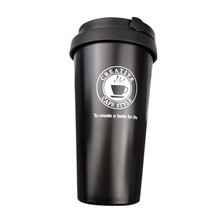 New 500ML Coffee cup Water Cup travel mug double wall vacuum insulated wide mouth glass tea with lid stainless steel