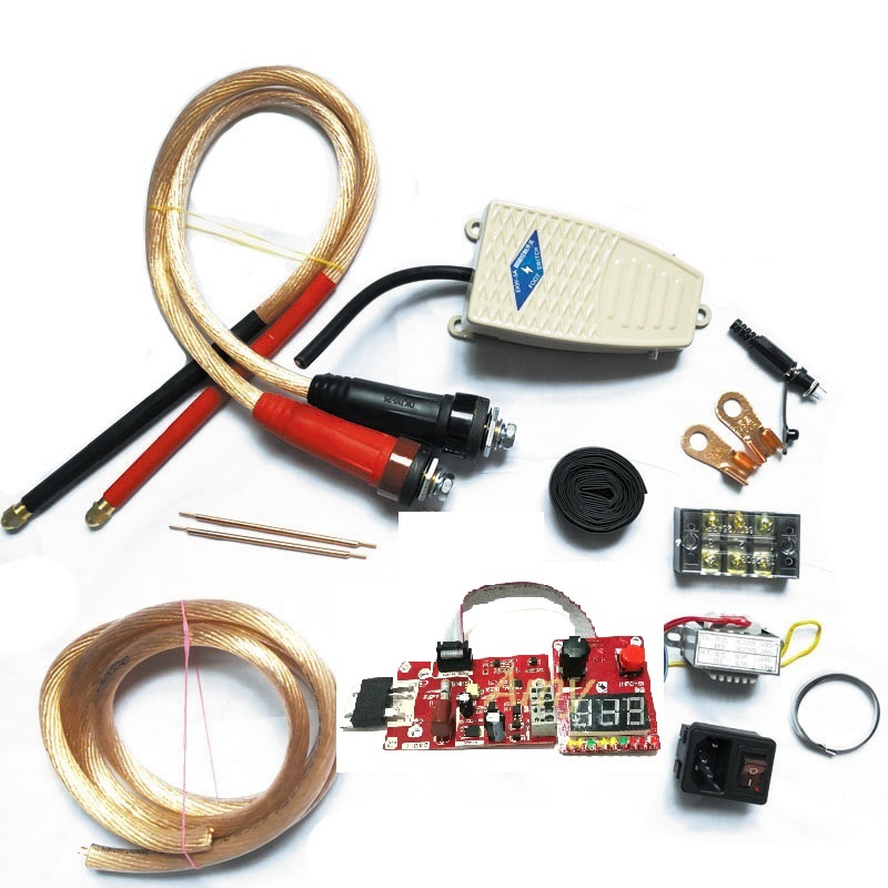 100A Double Pulse Spot Welder DIY Assembly Kit Spot Welder Transformer Controller
