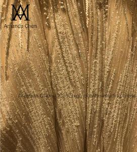 Image 5 - Женское вечернее платье с длинным рукавом, роскошное свадебное платье с жемчугом и кристаллами