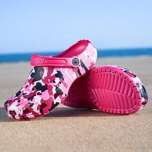 Image 5 - קיץ חיצוני מים נעליים לנשימה רשת קריק החוף מהיר יבש שכשוך במעלה הזרם קל החלקה דיג נטו מים נעל