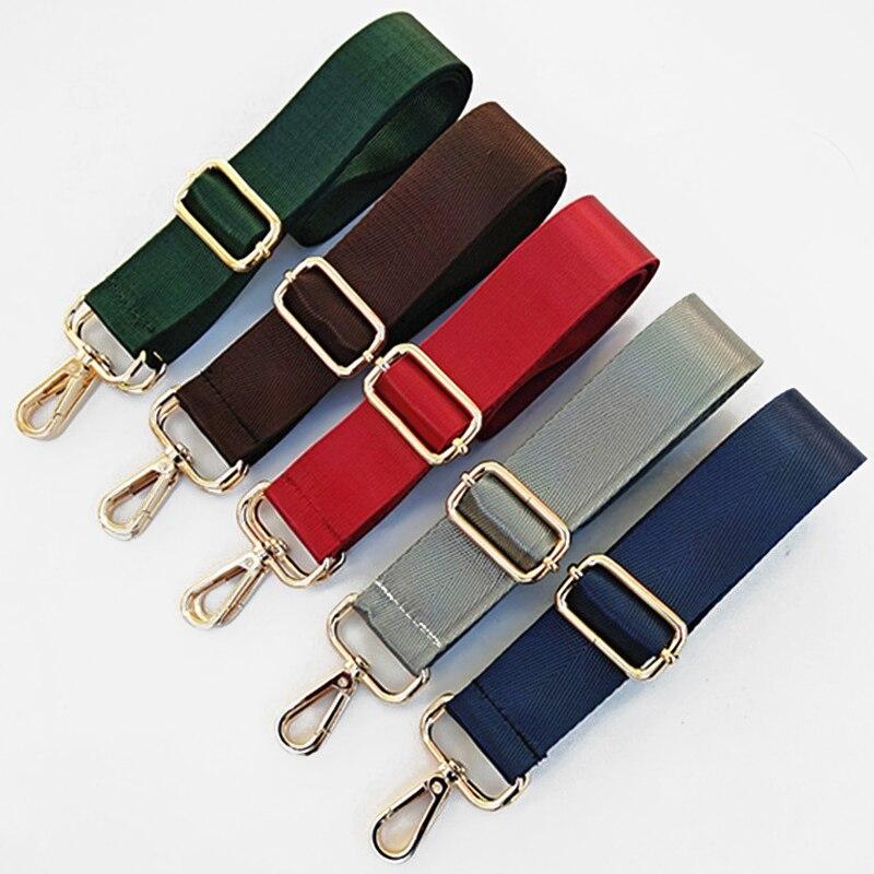 Rainbow Belt Bag Strap for Women Shoulder Handbags Decorative Handle Adjustable Wide Strap Parts for Bag Accessories Obag Handle
