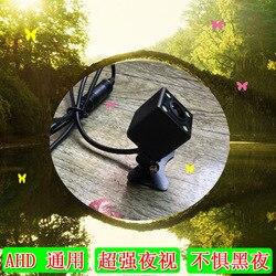 Ahd uniwersalna kamera pokładowa lustrzanym odbiciem regulowany uchwyt wtykowy kamera noktowizyjna o bardzo wysokiej rozdzielczości w Kamery pojazdowe od Samochody i motocykle na