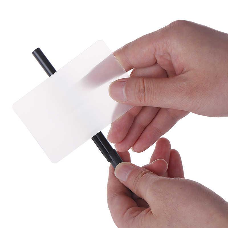 1 шт. дети хитрое трюк легко сделать для начинающих с ручкой объектив карты перспективное искажение закрыть уличное волшебство трюки