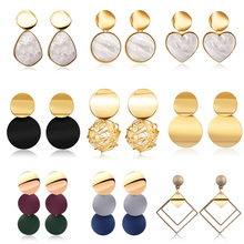 Drop Earrings For Women Korean Statement Fashion Jewelry