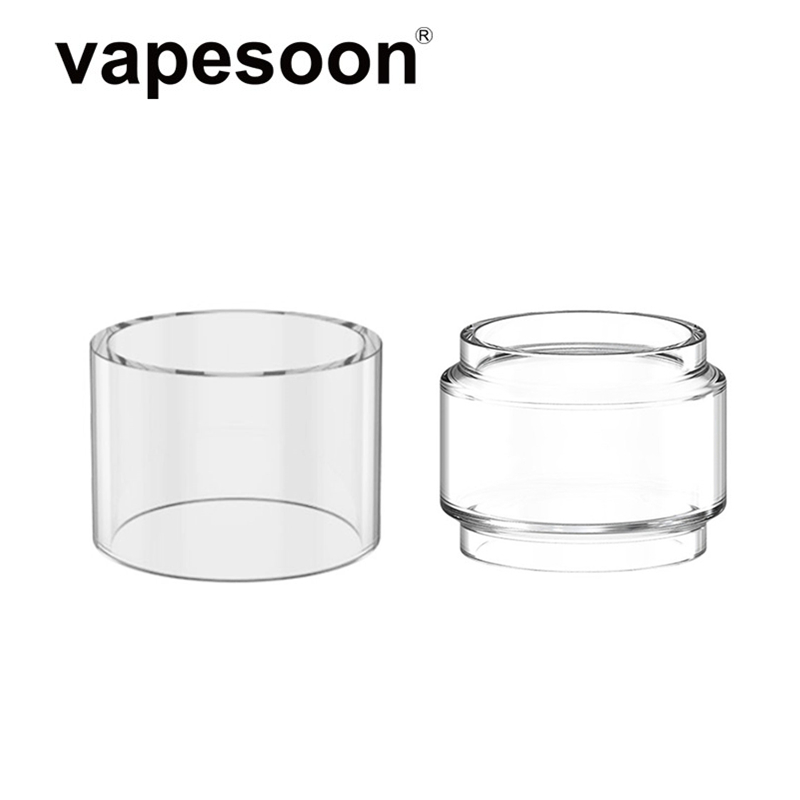 Replacement Pyrex Glass Tube For Hellvape MD RTA 24mm Diameter Atomizer 2ml / 4ml Tank Capacity