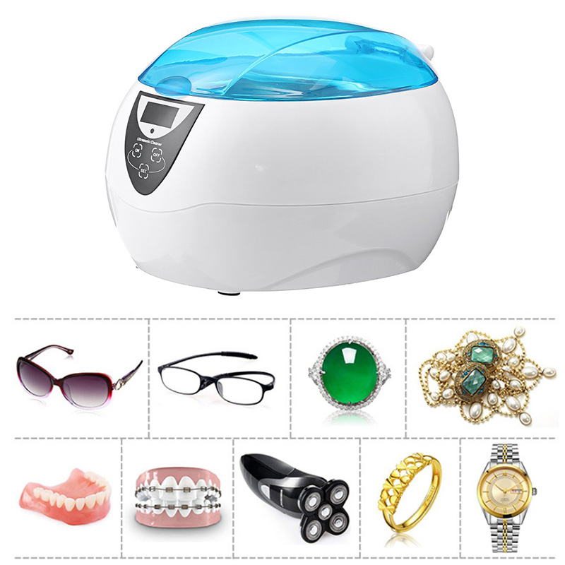 Manicure Tool Cleaner Household Small Ultrasonic Cleaner Eyewear Jewelry Cleaner