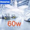Lampe industrielle atelier lumière 45W/60W/80W E27 LED ampoule Super lumineux trois feuilles LED Garage éclairage Led plafond pour Garage 220V|Éclairage industriel| |  -