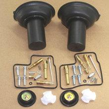 2 conjunto para honda vlx600 vt vlx 600 kit de reparo do carburador reconstruir diafragma para 1994-2003 honda vlx600 vt vlx 600