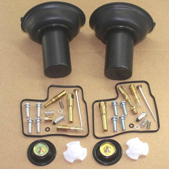2set For Honda VLX600 VT VLX 600 Carburetor Repair Kit Rebuild Rebuild Diaphragm For 1994 2003 Honda VLX600 VT VLX 600