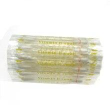 100 stücke Vitamin E öl Tupfer Zähne Bleaching Kits Verwenden vor Zähne Bleaching zu Schützen Lip und Gum von VE tupfer