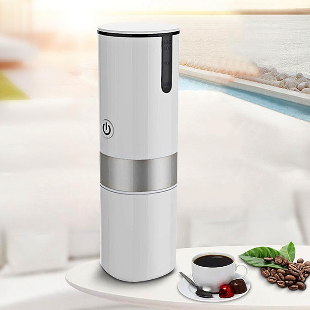 2 In 1 Portable  Fully Automatic USB Electric Capsule Coffee Maker Machine Cup Mini Espresso For Lightweight Home Car Travel