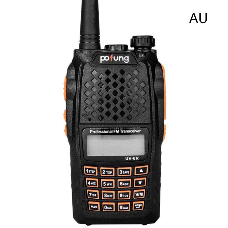 Baofeng UV-6R Walkie Talkie 400-470MHz Dual Band Two Way Radio Transceiver Kit