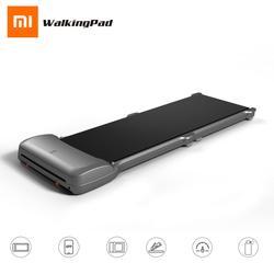 Оригинальный Xiaomi Mijia WalkingPad C1 версия из сплава смарт-приложение управление складная прогулочная площадка мини ультра-тонкая прогулочная фит...