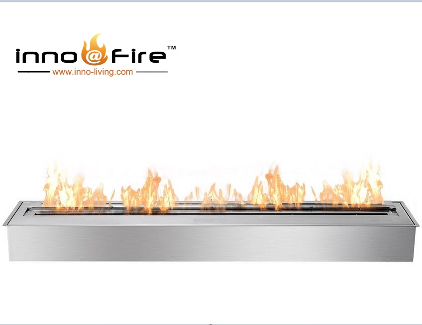 Hot Sale 48 Inch Stainless Steel Alcohol Chimney Bio Ethanol Fire Pit