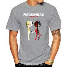 New Radiohead Alternative Rock Band The Best Of Men's Black T-Shirt Size S-3XL Cotton Brand Fashion Tops Tee Shirt