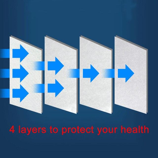 Fast Shipping 10PCS KN95 Mask Antivirus Flu Anti Infection KN95 Mouth Masks PM2.5 Protective Safety Face Masks Same as KF94 FFP2 4