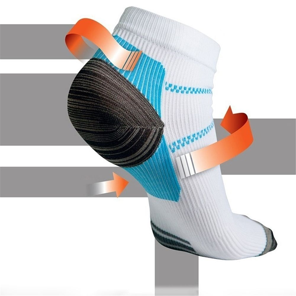 NEW Arrival 1 Pair Men Foot Care Compression Sock Heel Spurs Pain Sport Socks Good Quality Hot Selling