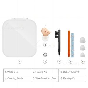 Image 4 - T3 Beste Hörgeräte Digitale 4 Kanäle Unsichtbare Hörgerät Ohr Sound Verstärker Die Ältere Dropshipping