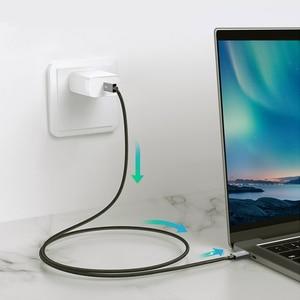 Image 2 - CABLETIME Thunderbolt 3 kabel USB typu C certyfikat PD 100W kabel 40 gb/s 5A/20V Super ładowania dla Dell XPS Razer Macbook Air N320