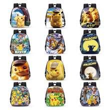 Детский Школьный рюкзак с покемонами аниме фигурка Пикачу детские