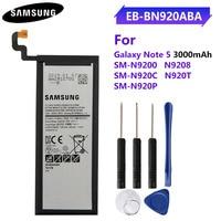 Original teléfono batería EB-BN920ABE EB-BN920ABA para Samsung GALAXY Note 5 N9200 N920t N920c Note5 SM-N9208 N9208 3000mAh