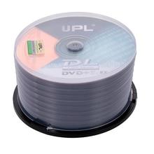50 шт. 215 мин 8X DVD+ R DL 8,5 ГБ пустой диск DVD диск для данных и видео