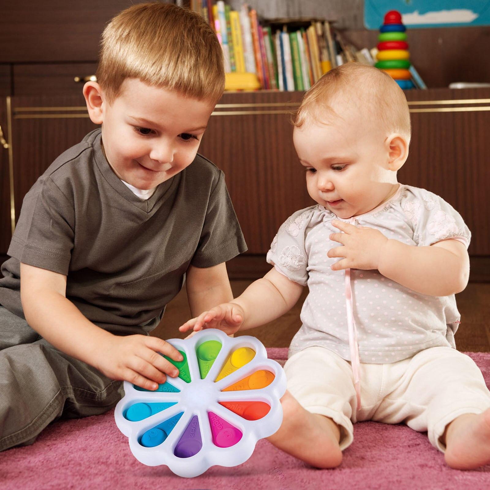 Toy Adult Bubble-Sensory-Toy Autism Pop Fidget Anti-Stress Squishy -Push Needs Funny img3