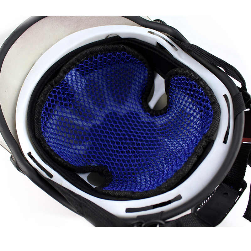 Oopp carro moto capacete almofada universal respirável 3d celular rede capacete almofada interna motocicletas capacete almofada de isolamento térmico