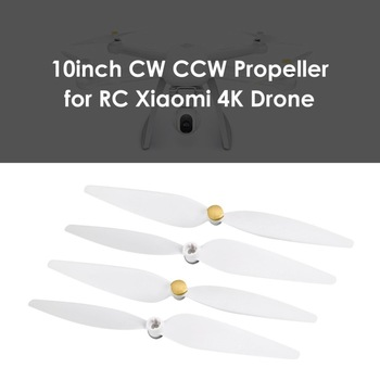 2 Pairs/Set Original CW +CCW Propeller set for Xiaomi Mi Drone 4K Version FPV Drone RC Quadcopter spare parts blades 10 pairs cw ccw propellers mini props blades spare parts accessories for xiaomi mitu rc fpv drone quadcopter aircraft uva
