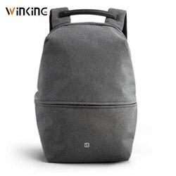 Kingsons Neue 15 zoll Laptop Rucksack Hohe Qualität Männlichen Tasche USB Aufladen Multi-schicht Raum Reise Männlichen Tasche Anti-dieb Mochila