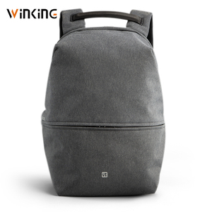 Kingsons New 15 inch Laptop Backpack High Quality Male Bag USB Recharging Multi-layer Space Travel Male Bag Anti-thief Mochila