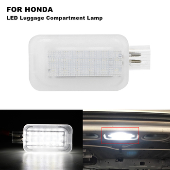 Xenon White LED Trunk Lid Cargo Area Lamp Luggage Compartment Light For Honda Civic Accord Fit Jazz Insight Acura ILX TSX RSX TL image
