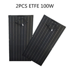 Battery-Charger Monocrystalline Solar-Cell 100W 200W 2pcs Equal for Yacht/steamship 12V