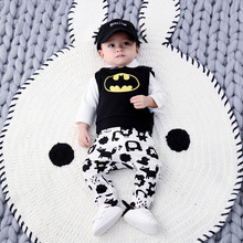 3 – 24M Baby Pants Boys Spring and Autumn Pure Cotton Outdoor Wear Trousers Infant Korean Version Casual Kids Clothing
