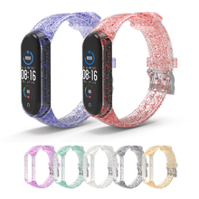 Watch-Band Wrist-Strap Smart-Bracelet Xiaomi 7-Colors Silicone for 4 4-3 5