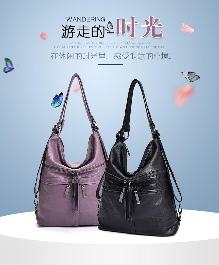 de couro superior-alça saco sac femme