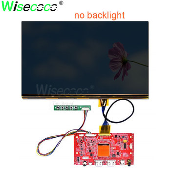 no backlight 12.5 inch 3840*2160 4k IPS EDP 40 pin screen with HDMI micro USB driver boardfor 3D printer DIY project LQ125D1JW34