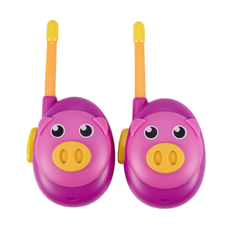 um par walkie talkie pai filho chamada sem fio brinquedo interativo presente mini walkie talkie das