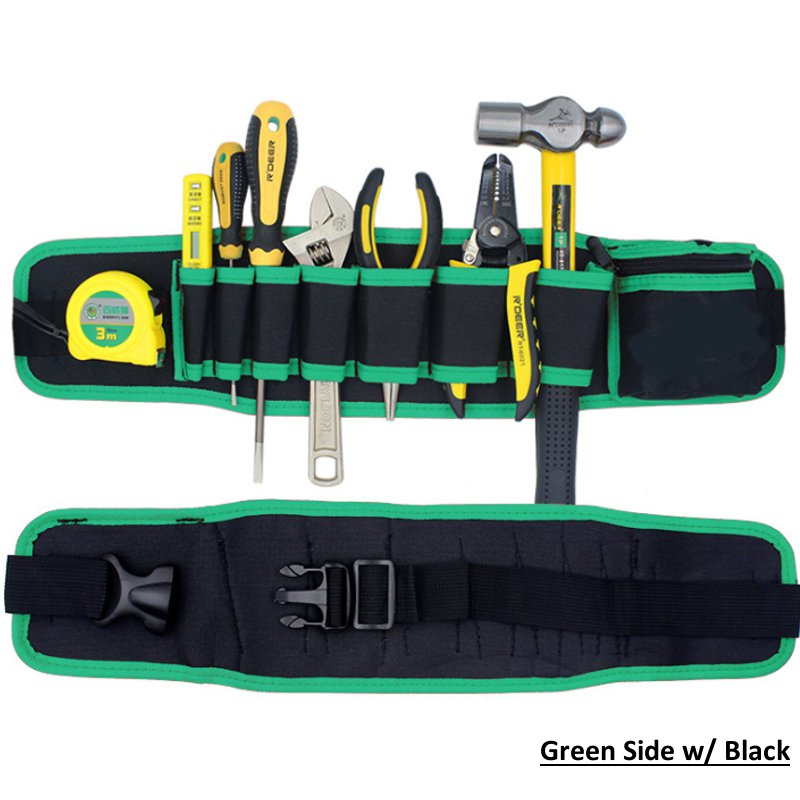 Adjustable Waist Pocket Belt Tool Bag Pouch Hammers Pliers Screwdriver Holder Storage Hand Repair Tool Organizer For Electrician