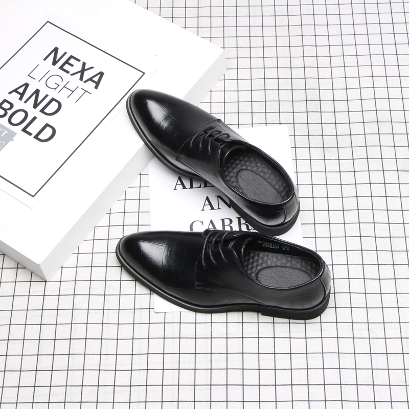37 44 mens formal shoes business comfortable Stylish Gentleman's formal shoes men #2033-in Formal Shoes from Shoes