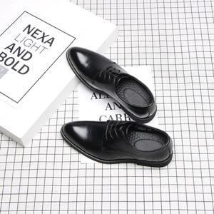 Image 1 - 37 44 mens formal shoes business comfortable Stylish Gentlemans formal shoes men #2033