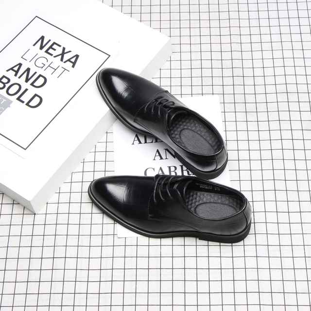 37 44 mens formal shoes business comfortable Stylish Gentlemans formal shoes men #2033
