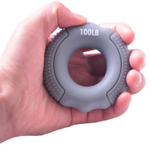Зажим для пальца с силиконовой захват руки комплект эластичных лент зажимное кольцо наручные носилки палец предплечья тренер Pow упражнения...